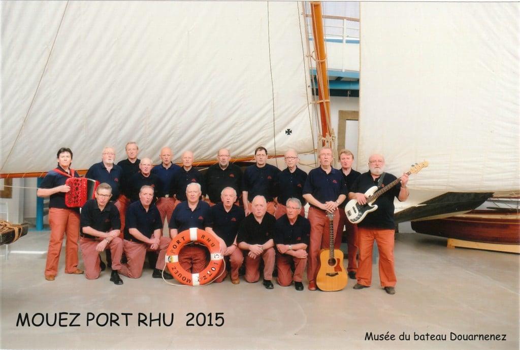 Groupe Mouez Port Rhu 2015